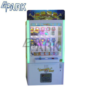 Gewinn-Stoss-MünzenSäulengang-Prize Verkauf-Spiel-Maschinen-Greifer-Kran-Maschine Innen für Verkäufe