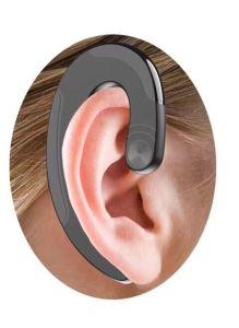 Ультра тонкий заушное крепление беспроводной гарнитуры Bluetooth для iPhone 9 Plus