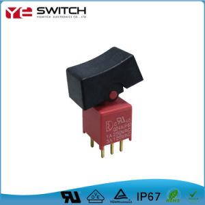 Interruptor de alimentação elétrica à prova de água redonda com luz LED aceso Micro Interruptor de botoneira de Autopeças