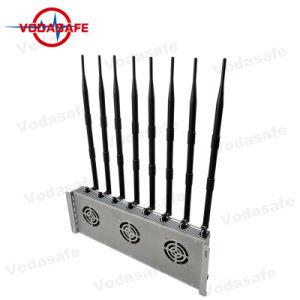 De krachtige Stoorzender van het Signaal, de Stoorzender van de Telefoon van de Cel, de Stoorzender van het Signaal van de Telefoon van de Hoge Macht van de Desktop van 8 Antenne/Blocker GSM Stoorzender, multi-Funtional Stoorzender /Blocker