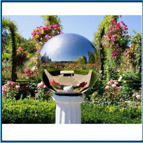 sfera vuota dell'acciaio inossidabile di 600mm lucidata