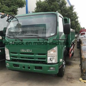 Autocarro con cassone ribaltabile del ribaltatore di Isuzu 190HP 7mt 8mt