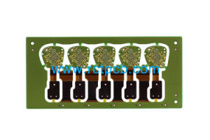 8層HDIのボードが付いている多層堅い屈曲PCB