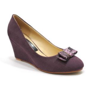 Milieu talon Femme Chaussures Chaussures de filtre en coin