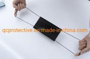 A fábrica produz 3ply Máscaras Faciais preta com preço barato