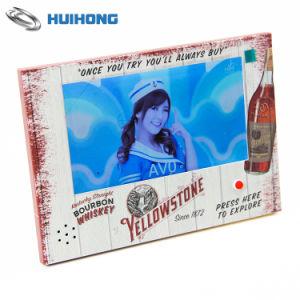 Cartão de felicitações de vídeo personalizada de brochuras de vídeo