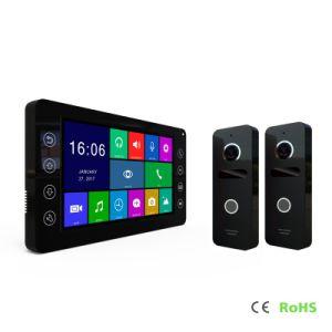 HDのホームセキュリティーメモリのビデオDoorphoneのインターホン7インチの通話装置の