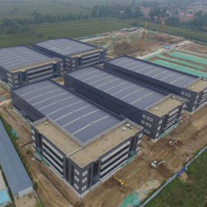 Edificio de estructura de acero prefabricados para la industria Taller Almacén