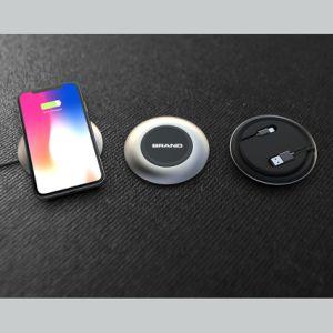 2018 Búsqueda Rápida móvil de los accesorios de telefonía móvil inalámbrica Qi Chargerpad