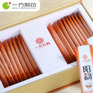 OEM del ODM solido del ridurre in pani della capsula dei granelli delle pillole di Yifang del tè di rima della bevanda nove del tè Anti-Freddo