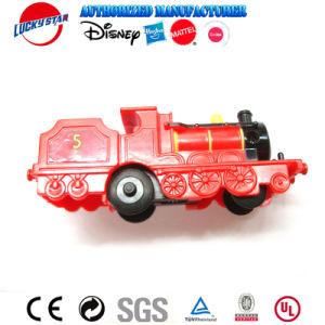 Barato comboio vermelho brinquedos brinquedos de plástico treinar com motor de wind-up