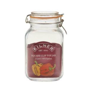 Armazenamento de Alimentos selado hermeticamente com jarro de vidro clássico Lock-Lid hermética 500ml/1000ml