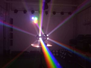 Indicatore luminoso capo mobile della fase del partito 12PCS*10W LED del DJ