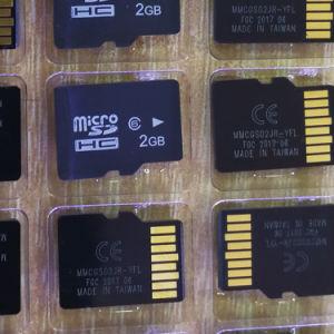 2GB容量のSamsungのための全能力64GBマイクロメモリ・カードSDのカード