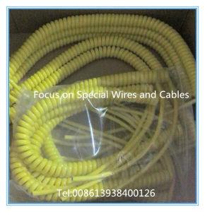 Super flexíveis de PVC personalizadas PU cabo enrolado fio em espiral