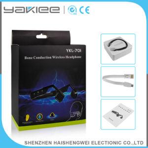 汗骨導の小型Bluetoothのステレオヘッドセットに対して