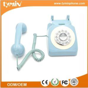 TM-PA188 Home Use fio Azul Antique novidade telefones retrô com fio para decoração
