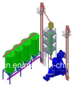 高いQuanlityのステンレス鋼の自動半ゆでにする米製造所機械プラント