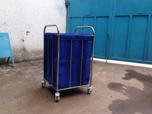 De Neerstorting van het Afval van het Ziekenhuis van het roestvrij staal, Schoonmakend het Kleden zich Karretje