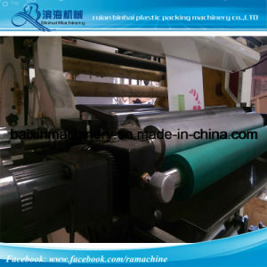 회전 물자를 위한 6개의 색깔 시리즈 유연한 인쇄 기계