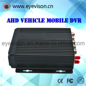 3G 4CH Ahd720p beweglicher DVR Support des Fahrzeug-bewegliche Optionen 4G der 128 GB-Karten-DVR