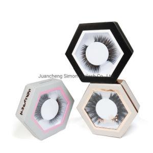 3D Martas Eyelash pacote personalizado com Etiqueta Privada