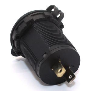 De dubbele Lader yj-Ds2015 van de Adapter van de Macht 2.1A&1A van de Splitser 12V USB van de Contactdoos van de Aansteker van de Auto