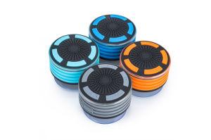 Wireless ducha resistente al agua IPX7 Altavoces del equipo de iluminación LED con radio FM