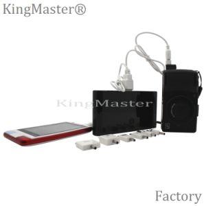 batería portable de la potencia de la carga rápida de la capacidad grande 20000mAh con el cable de datos