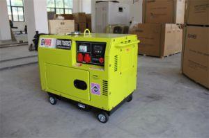 製造業者418ccのAir-Cooled電気開始の無声ディーゼル発電機5kw