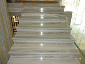 内壁のための金川の大理石のタイルかフロアーリングまたは階段またはまわりを回ること