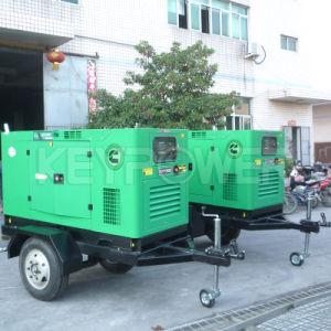 50kVA diesel do gerador de energia elétrica do reboque com motor Cummins