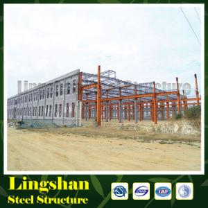 Lingshan покрасило светлую конструкцию стальной структуры (LS-S-065)