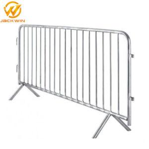 Acero galvanizado extraíble de la barrera de control de multitudes valla personalizada