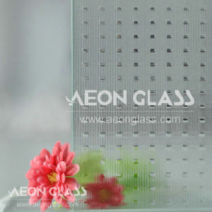 3mm, 3.5mm, 4mm, 5mm, 6mm en 8mm Patterned Glass, Figured Glass, Clear Millennium Glass