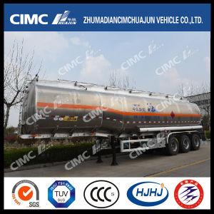 52cbm Cimc Huajun combustible de aleación de aluminio/gasolina/gasolina/Petrolero