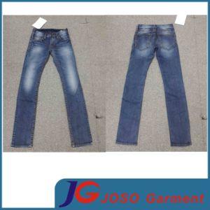 Slijtage van de Jeans van Strench van de Manier van het meisje de Magere in Strakke Jeans (JC1311)