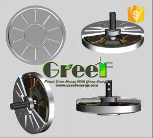 Gerador de Torque Baixo, Eixo Vertical Gerador eólico, Coreless gerador, 1KW, 10kw