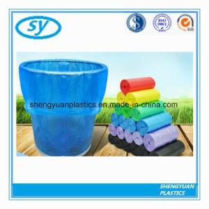 Multicolor sac poubelle en plastique pour une utilisation quotidienne