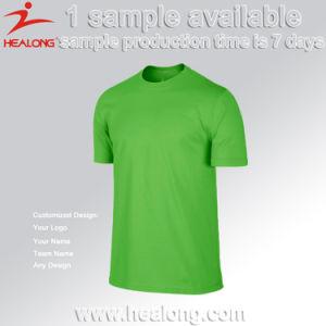 Healong 2017 주문 다채로운 디자인 남자에 의하여 결합되는 축구 팀 t-셔츠