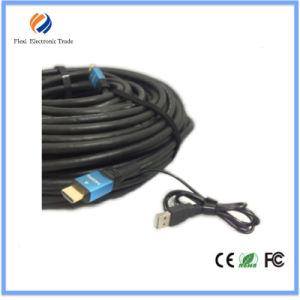Cavo di alta velocità 50m HDMI con il supporto 1080P, 3D, 4k*2k del ripetitore