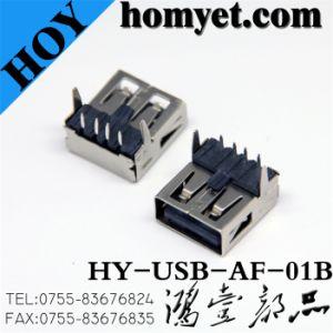 USB femminile 2.0 di Board Mount un Type Connector per con DIP Type (USB-AF-01B)