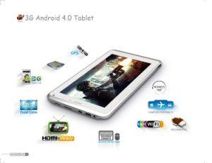 7 duim 3G Calling Android 4.1 PC van Dual Core Tablet met GPS HDMI Bluetooth Analoge TV en WiFi