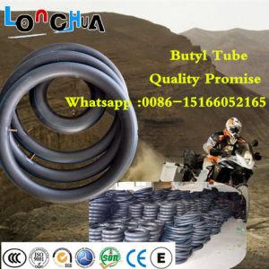 Natürliches Butylkautschuk-Motorrad-inneres Gefäß Qingdao-Longhua (3.00-8)