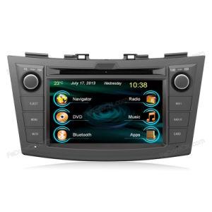 GPS를 가진 스즈끼 Swift를 위한 7 인치 Car Audio Stereo System Accessories, Automotive DVD & Bluetooth & Radio & Navigator & iPod & 텔레비젼 & USB