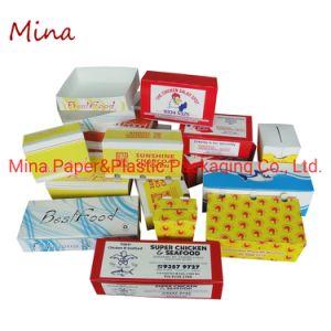 La eliminación personalizados de papel grado alimenticio caja de embalaje de alimentos fabricante