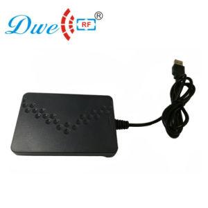 125kHz y 13.56MHz de doble frecuencia lector RFID USB ISO14443G6d un