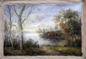 Het schilderen - Corot