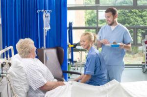 使い捨て可能な病院のカーテン(EM02)