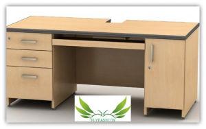 Ordinateur de bureau en bois pour les meubles de bureau do a